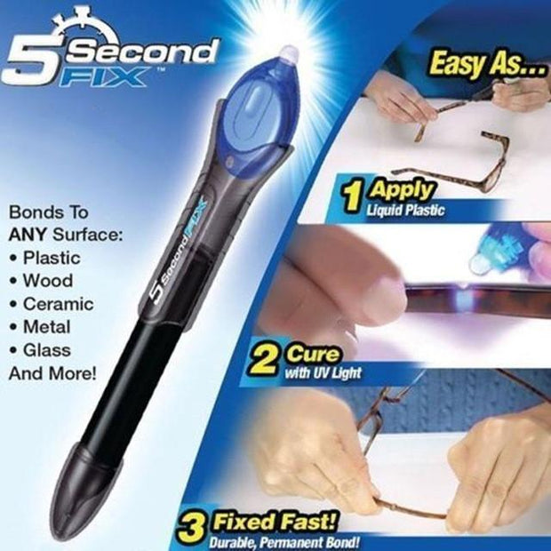 5 SECOND FIX LIQUID-PLASTIC WELDING TOOL - Ladys Jewels & More
