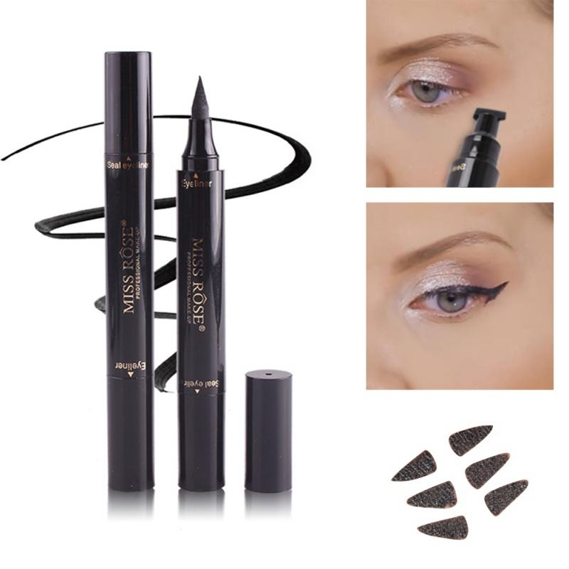 2 in 1 Liquid Eyeliner with Wing Stamp - Ladys Jewels & More