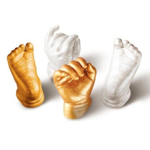 3D Plaster Baby Hand & Foot Casting Mini Kit - Ladys Jewels & More
