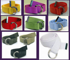 Wholesale Military Web D Ring Belts