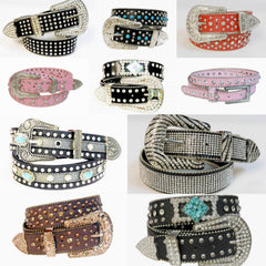 Wholesale Western Rhinestone Cowgirl Belts