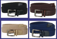 Wholesale Big and Tall Mens Elastic Stretch Belt