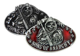 Enamel Sons of Anarchy Reaper Belt Buckle Wholesale 1002