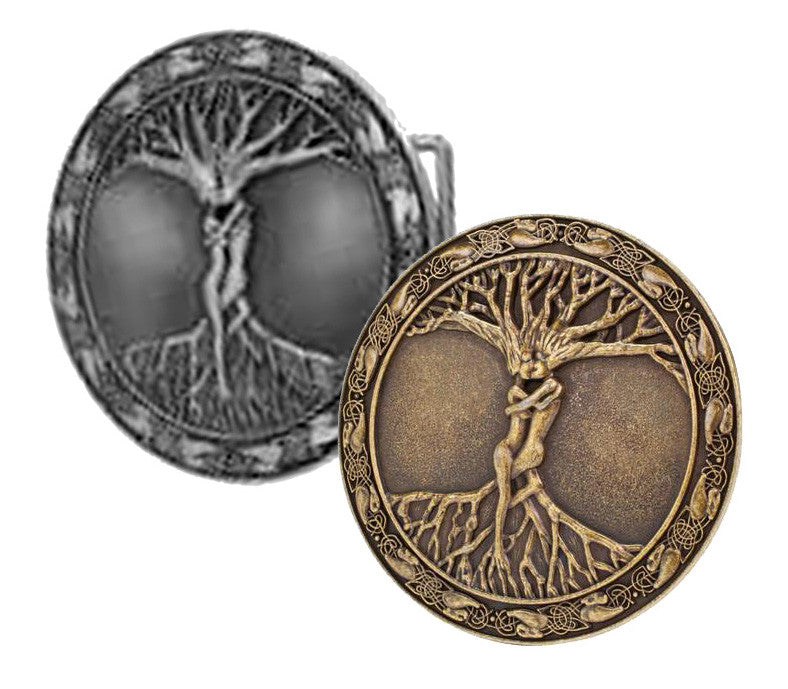 WHOLESALE Tree of Life Path of Life Belt Buckle 1152
