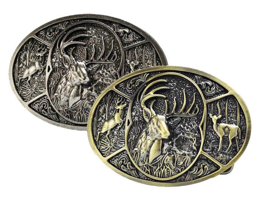 Wholesale Deer Collage Belt Buckle Southern Hunting 1557