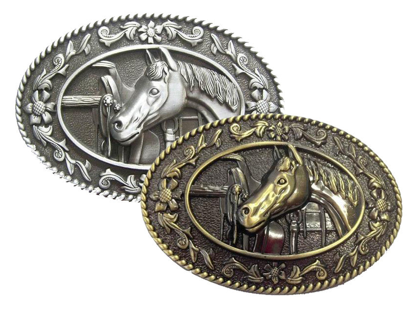 Wholesale Western Horse Belt Buckle 1632