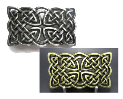 Wholesale Irish Celtic Antique Silver belt buckle 1660