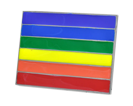 Wholesale Rainbow pride Belt Buckles 142