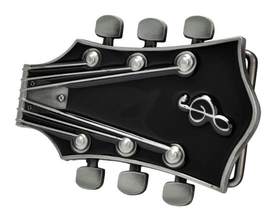 Wholesale Guitar Musical Belt Buckle Poker 1229