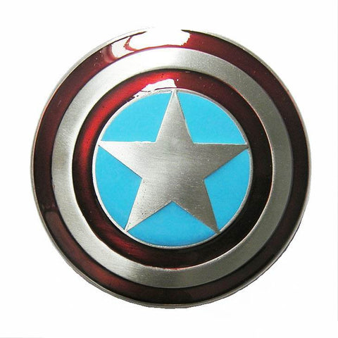 Wholesale Captain America Shield Belt Buckle 1324