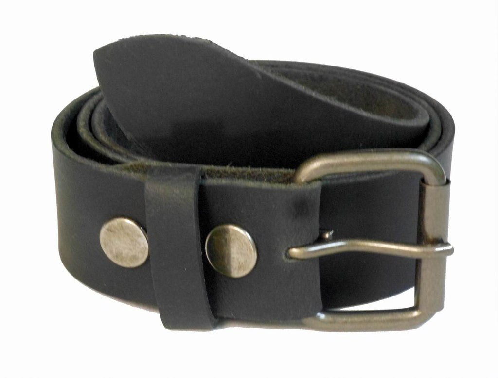 Wholesale Mens Genuine Leather Belt Black color  WN33G45BK