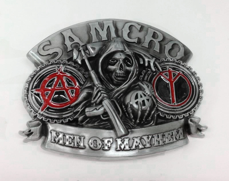 Sons of Anarchy Grim Reaper Belt Buckle Wholesale 1003