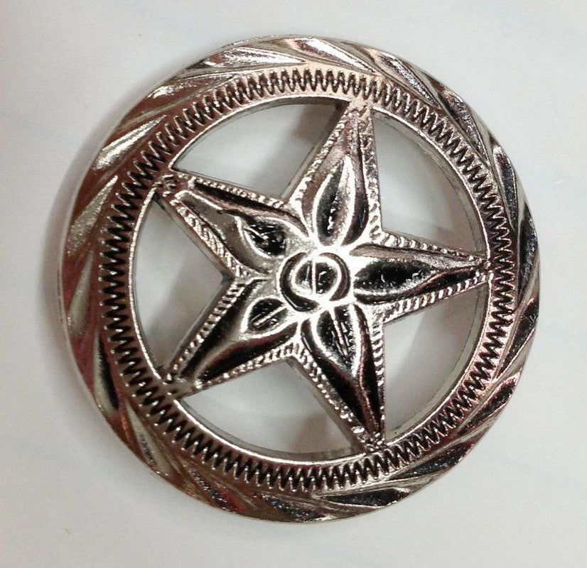 Wholesale Western Texas Star Conchos 6 pcs CH4181