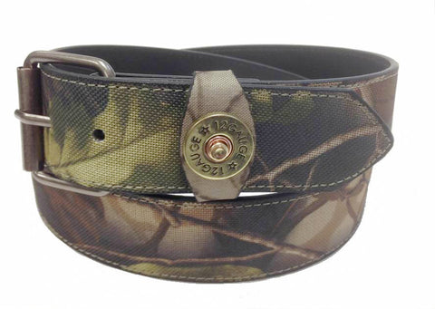 Wholesale Camouflage 12 gauge shot gun concho belt