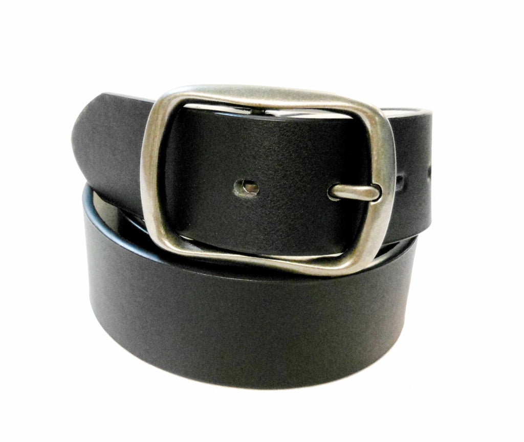 Wholesale Mens Genuine Leather Belt Black color  WN33G547BK
