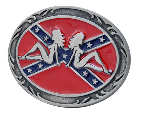Dixie 911 Gun Belt Buckle Southern Pride Confederate Rebel 1276
