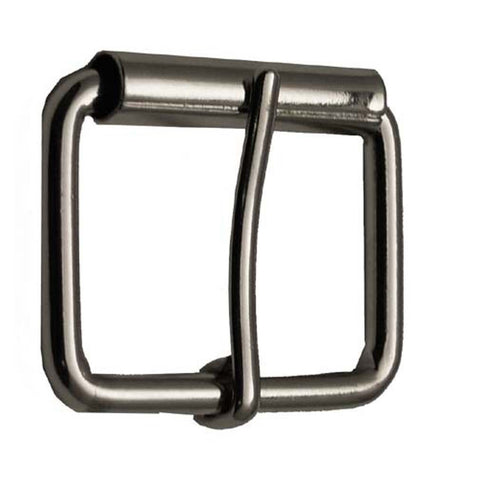 12 Pieces Wholesale Heavy Duty Antique Silver Roller Pin Buckles BU1845-ATS
