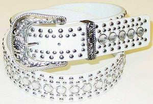 Western Rhinestone Studs Fashion Belt Wholesale 50117WH