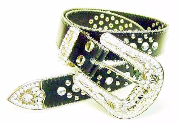Western Rodeo Horse Show Belt Wholesale 50119BK