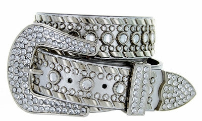 Western bling rhinestone cowgirl belt wholesale 50118SV