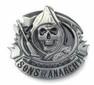 Wholesale Sons of Anarchy Reaper Belt Buckle 1000