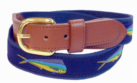 Dolphin Fish Ribbon cotton Belt Wholesale 9803NB