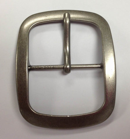 12 Pieces Wholesale Chrome Matt Polished Center Bar Buckle , Pin Belt Buckles, leather craft supply BU3943