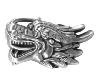 Dragon Head Belt Buckle Wholesale B1499 3pcs