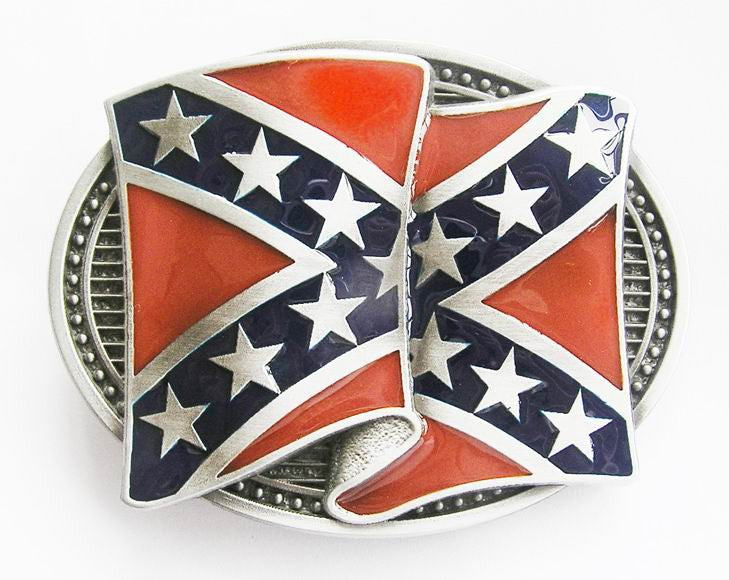 Western dixie rebel Southern Flag Belt Buckle Wholesale 1275