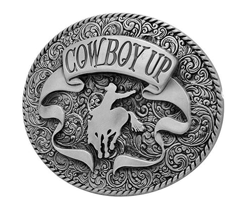 WHOLESALE western COWBOY UP rodeo horse Belt Buckle 1187