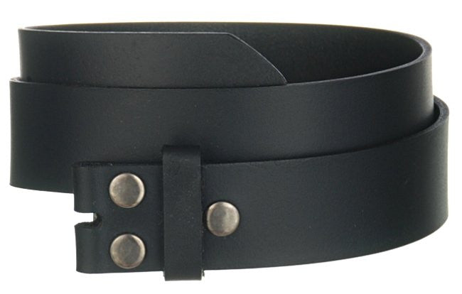 Men's Genuine Leather Jean Belt Wholesale Black leather belt WN33G