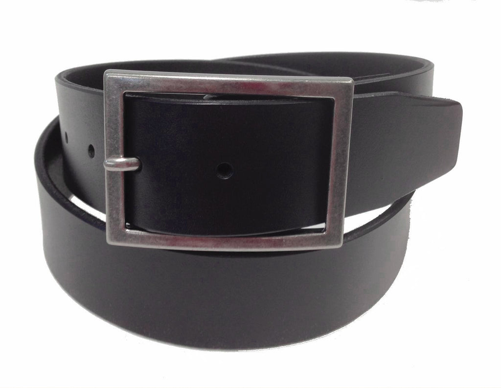 Wholesale BLACK Mens Italian Genuine Leather Belt BS40-009BK