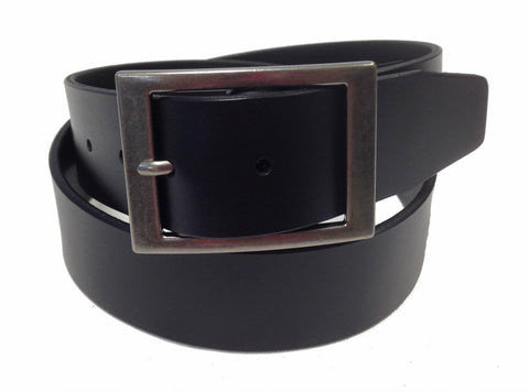 Wholesale BLACK Mens Italian Genuine Leather Belt BS40-2972BK