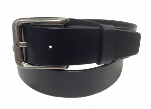 Wholesale BLACK Mens Italian Genuine Leather Belt BS40-3123BK