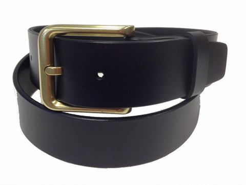 Wholesale BLACK Mens Italian Genuine Leather Belt BS40-3123BZBK