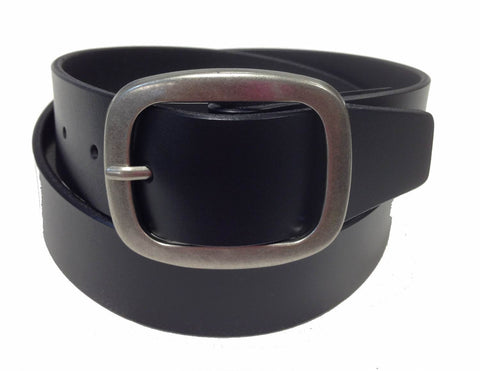 Wholesale BLACK Mens Italian Genuine Leather Belt BS40-3943BK