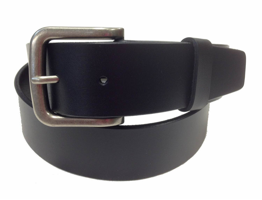 Wholesale BLACK Mens Italian Genuine Leather Belt BS40-4076BK