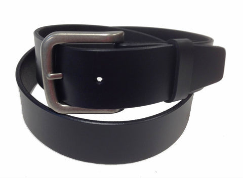 Wholesale BLACK Mens Italian Genuine Leather Belt BS40-8326BK