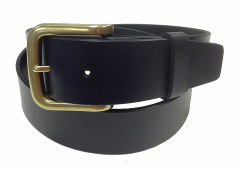 Wholesale BLACK Mens Italian Genuine Leather Belt BS40-8326BKBNZ