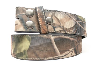 Wholesale Snap Belt Mossy Oak Camouflage snap on Belt NC87