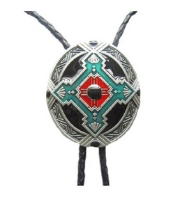 6f851d6dcdeb Western Cowboy Native American Indian Art Bolo Tie BT002 ...
