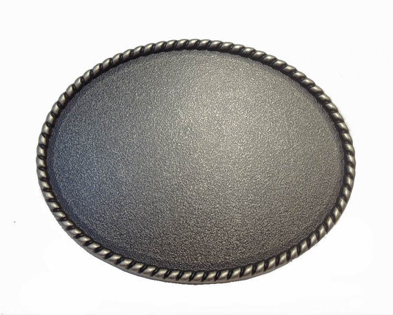 Wholesale Custom Oval Blank Belt Buckle 1650