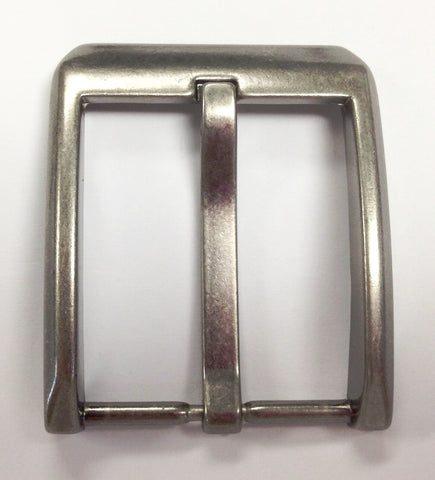 12 Pieces Wholesale Leather craft buckle supply, Chrome Matt Polished Wholesale Pin Belt BucklesBU2616