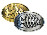 Wholesale Pirate Fish Belt Buckle 1645