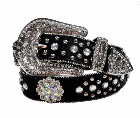 Western Berry Concho Rhinestone Belt wholesale 50128APU
