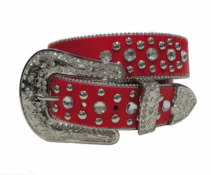 Western Rodeo Horse Show Red Belt Wholesale 50119MRD