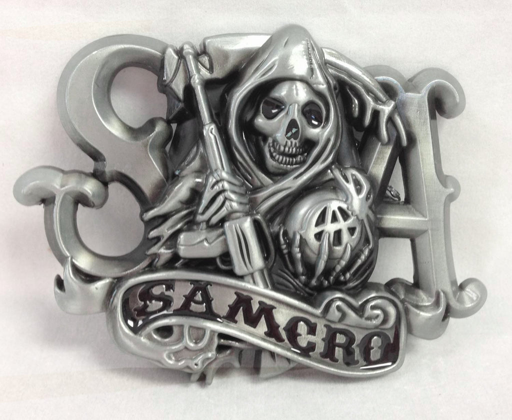 Sons of Anarchy Reaper Belt Buckle Wholesale 1001