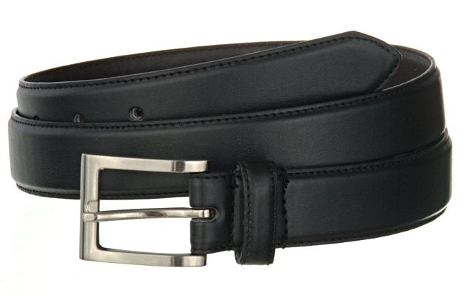 "Wholesale Mens Belt Big And Tall BLACK or BROWN 1-1/4"" Wide 2222L"