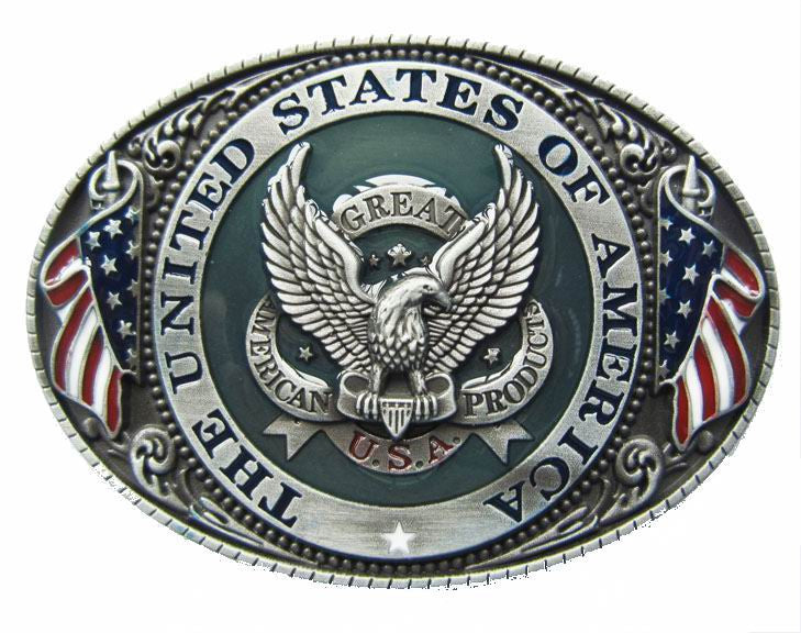 WHOLESALE The United States Of America Belt Buckle 1670