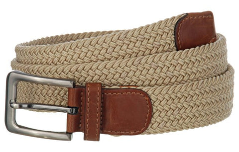 Wide Men's Leather Stretch Belt Wholesale 7001GBG